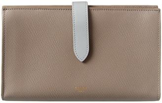 Celine Large Strap Leather Wallet