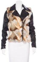 A.L.C. Fur & Leather Syd Jacket