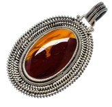 "Ana Silver Co. Ana Silver Co Huge Rare Mookaite 925 Sterling Silver Pendant 2 1/2"" PD562009"