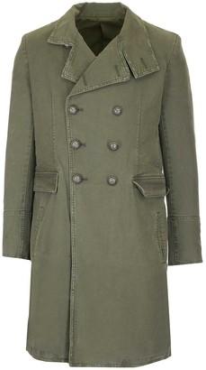 Balmain Double-Breasted Overcoat