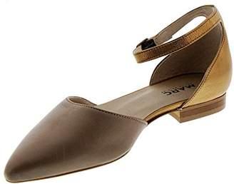 Marc Shoes Women's Pisa Sling Back Ballet Flats, Grey (grau 00297), 40 EU