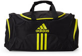 adidas Black & Yellow Scorer Medium Duffel