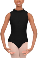 Danskin Black Mock Neck Leotard - Women & Petite