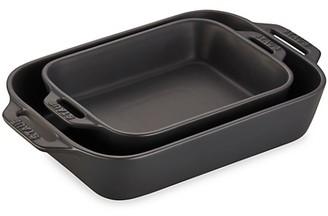 Staub Ceramic 2-Piece Rectangular Baking Dish Set
