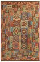 Arshs' Fine Rugs Kilim Arya Buster Flatweave Hand-Woven Wool Southwestern Rug