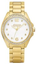 Coach Women's 14501661 Tristen White MOP Watch