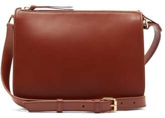 A.P.C. Stephanie Leather Cross Body Bag - Womens - Tan