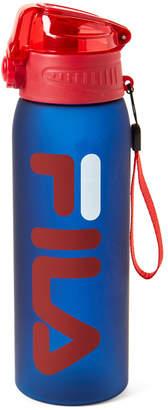 Fila Navy Logo Press Water Bottle