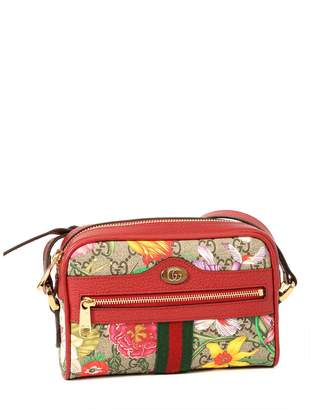 Gucci GG Ophidia Flora Mini Crossbody Bag