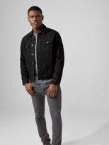 Frank + Oak The Rufus Denim Jacket in Black