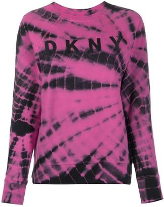 DKNY Tie Dye Print Jumper