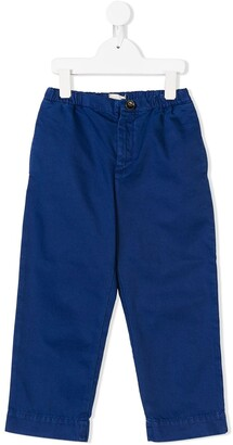 Gucci Kids Elasticated-Waist Chino Trousers