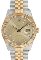 Rolex Vintage Two-Tone Thunderbird Turn O'Graph Datejust Watch, 36mm