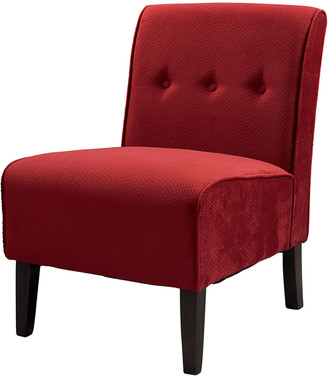 Linon Bella Red Accent Chair