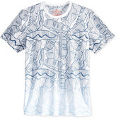 American Rag Men's Leaf Ombré T-Shirt, Only at Macy's