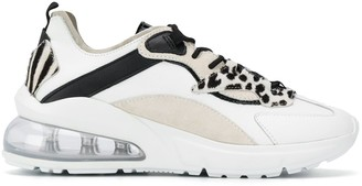 D.A.T.E Aura panelled chunky sneakers