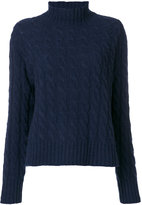 MSGM turtleneck thick jumper - women - Polyamide/Wool - XS