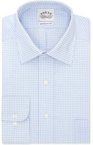 Eagle Men's Classic-Fit Non-Iron Light Blue Check Dress Shirt