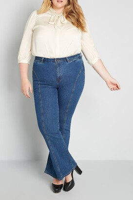ModCloth The Los Feliz Flare Jeans