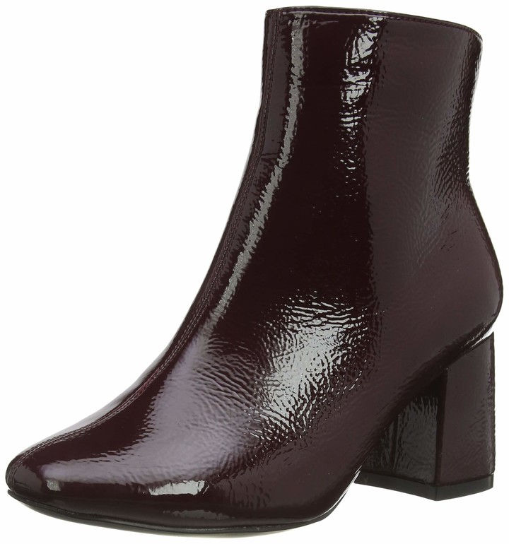 New Look Women's WF BARISSA 2-PU Flare HL SQ :61:S207 Ankle Boots
