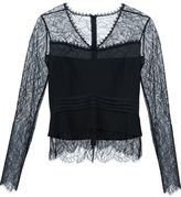Yigal Azrouel long sleeves lace blouse