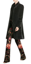 Max Mara Belted Coat with Alpaca Wool and Virgin Wool