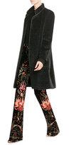 Max Mara Belted Coat with Alpaca Wool and Virgin Wool
