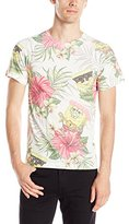 Nickelodeon SpongeBob Squarepants Men's Tropical Spongebob T-Shirt