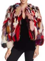 Rebecca Minkoff Rachel Real Fox-Fur Jacket