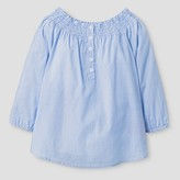 Say What Girls' Off the Shoulder Top - Blue