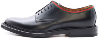 Gucci Leather Lace-up Shoe Web