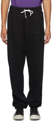 Palm Angels Black Logo Sweatpants