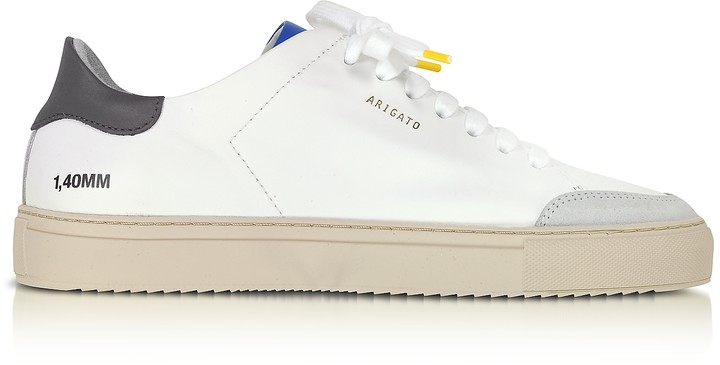 Axel Arigato Clean 90 Triple Green, Blue,Yellow Leather Men's Sneakers