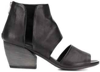 Officine Creative Blanc/013 zipped sandals