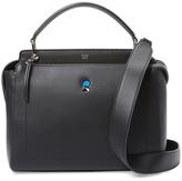 Fendi Dotcom Leather Satchel Bag