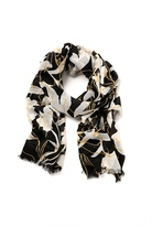 Country Road Floral Print Scarf