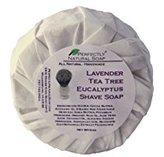 Lavender Eucalyptus Tea Tree All Natural Artisan Shave Soap, 3 oz