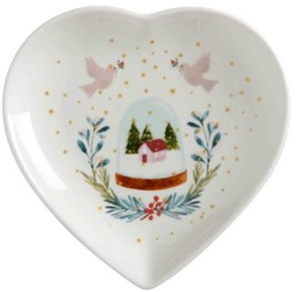 Maxwell & Williams Lappland Heart Shaped Dish 14cm Gift Boxed