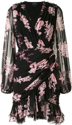 Giambattista Valli Floral Wrap Dress