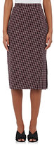 Altuzarra Women's Vic Plaid Seersucker Skirt-RED