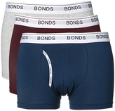 Bonds 3pk Guy Front Trunk Mens Underwear