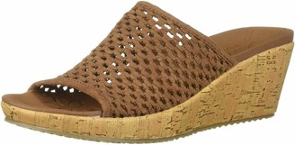 Skechers Women's Beverlee - Golden Sky Open Toe Sandals