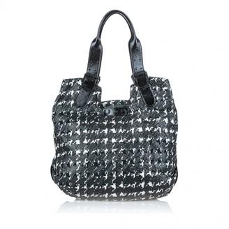 Alexander McQueen Black Leather Handbags