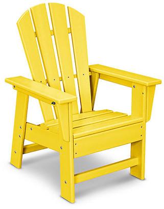 One Kings Lane Kids' Adirondack Chair - Lemon