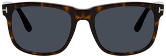 Tom Ford Tortoiseshell Stephenson Sunglasses