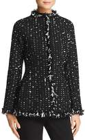 Paule Ka Fringed Tweed Jacket