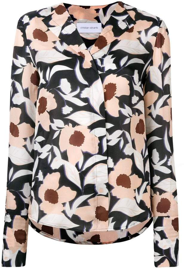 Christian Wijnants printed shirt