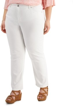 Style&Co. Style & Co Plus Size High Rise Tummy Control Jeans, Created for Macy's