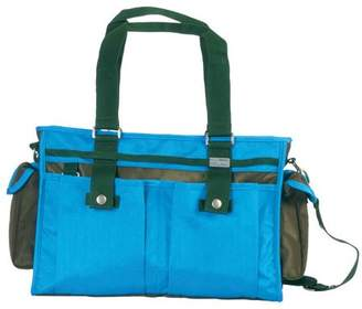Little Company Spice Shoulder Bag in Olive and Malibu Blue