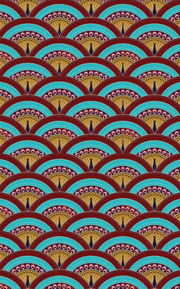 Les-Ottomans Peacock Design Printed Tablecloth